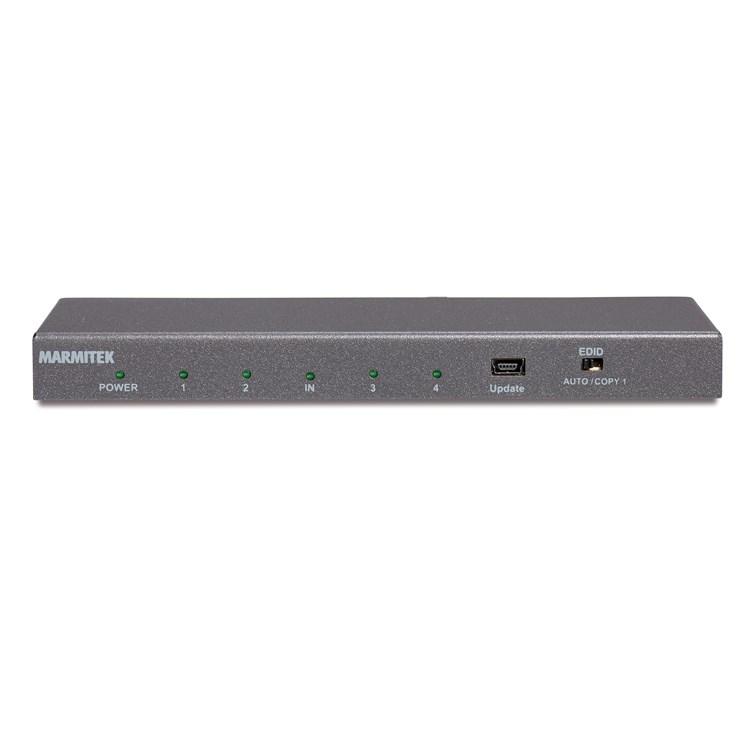 Marmitek: Marmitek SPLIT 614 UHD 2.0 HDMI splitter Grijs