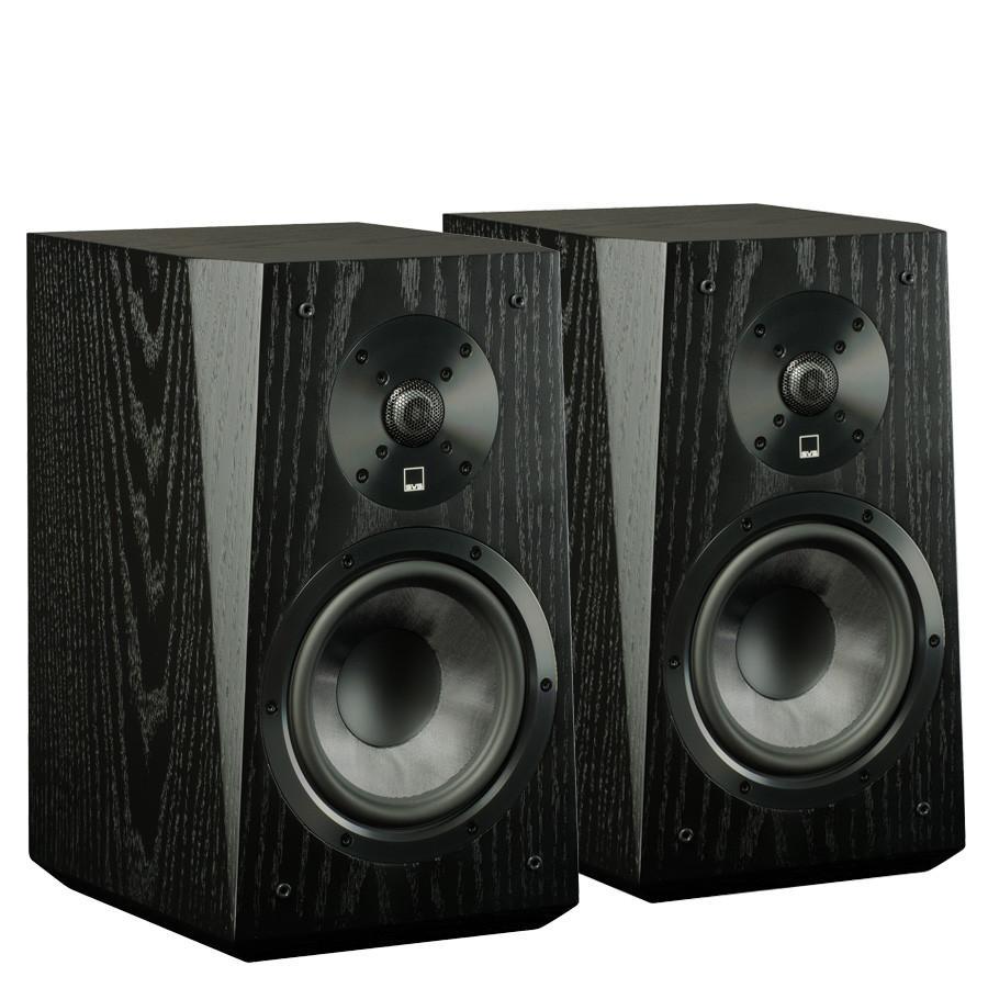 SVS: Ultra Boekenplank Speakers - 2 stuks - Zwart
