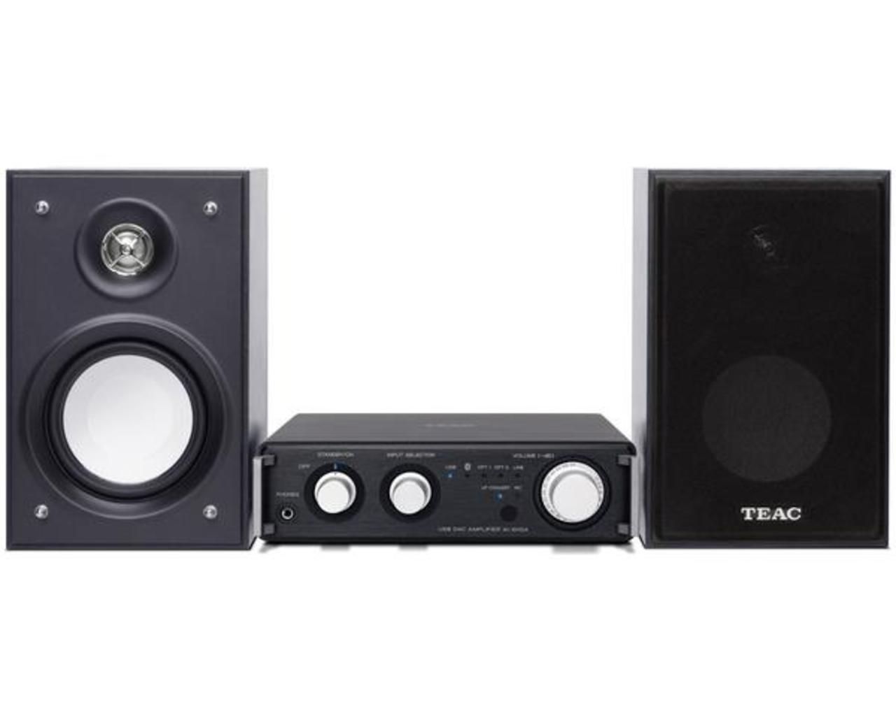 TEAC: HR-S101 DAC/Versterker Zwart - Zwart