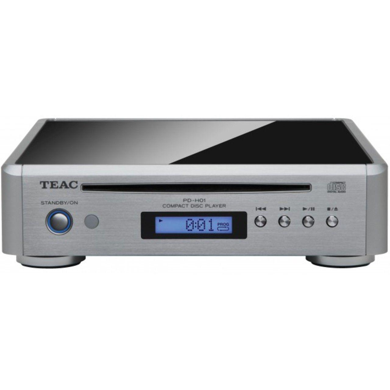 TEAC: PD-H01-S CD-speler Zilver