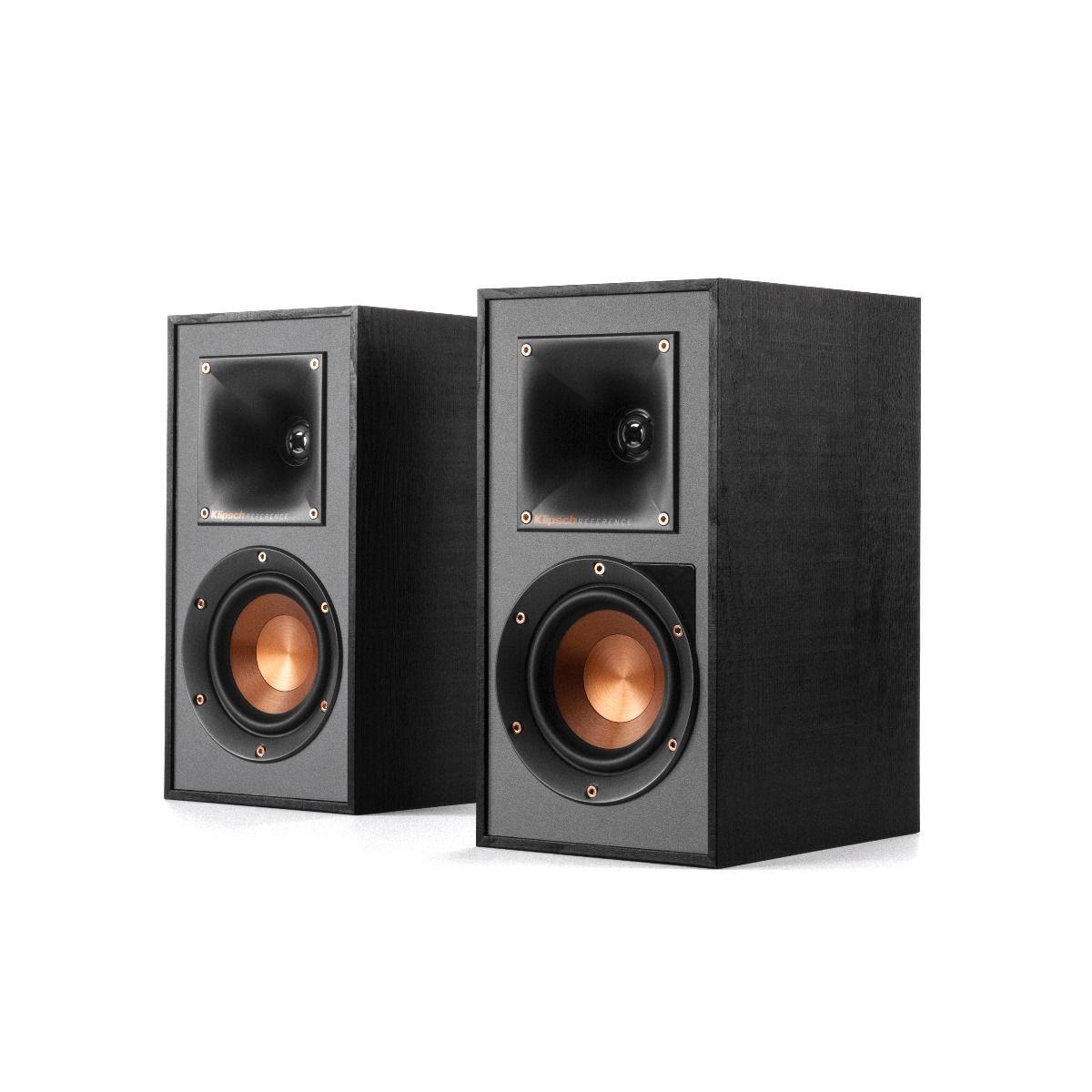 Klipsch: R-41PM Draadloze Boekenplank speakers 2 stuks Zwart