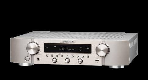 Marantz receiver NR1200 zilvergoud
