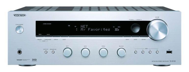 Onkyo: TX-8130 Netwerk Stereo Receiver – Zilver kopen