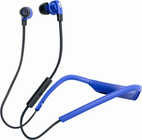 Skullcandy Smokin Bud 2 Wireless In Earphones Street-Royal Blue-Dark Blue