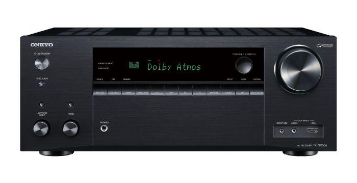 SecondDeal: Onkyo TX-NR686 7.2 Surround receiver Zwart