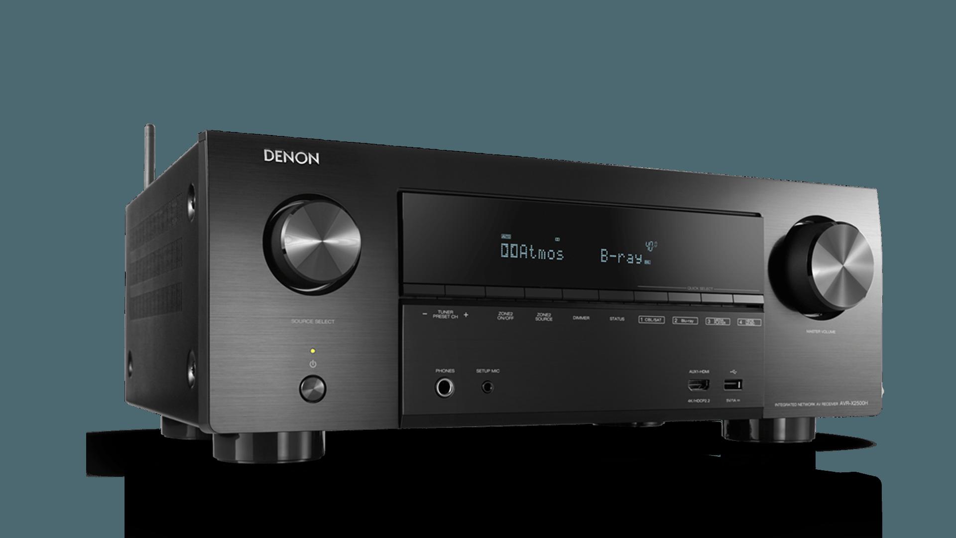 Nieuwe receivers toegevoegd aan Denon X-serie