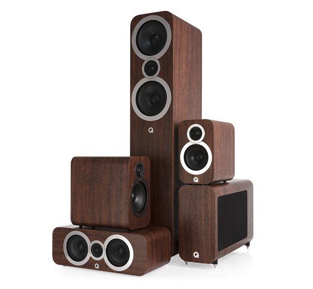 De nieuwe Q acoustics 3000i-serie
