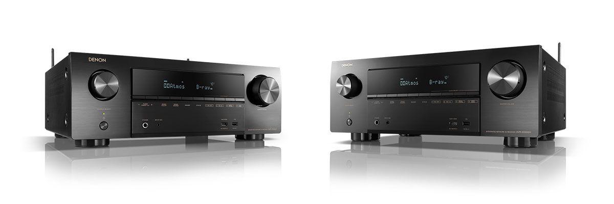 De nieuwe AVR-X receivers van DENON (Avr-x1600H, Avr-x2600H)