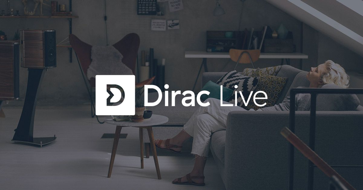Dirac optimaliseert speakers met software
