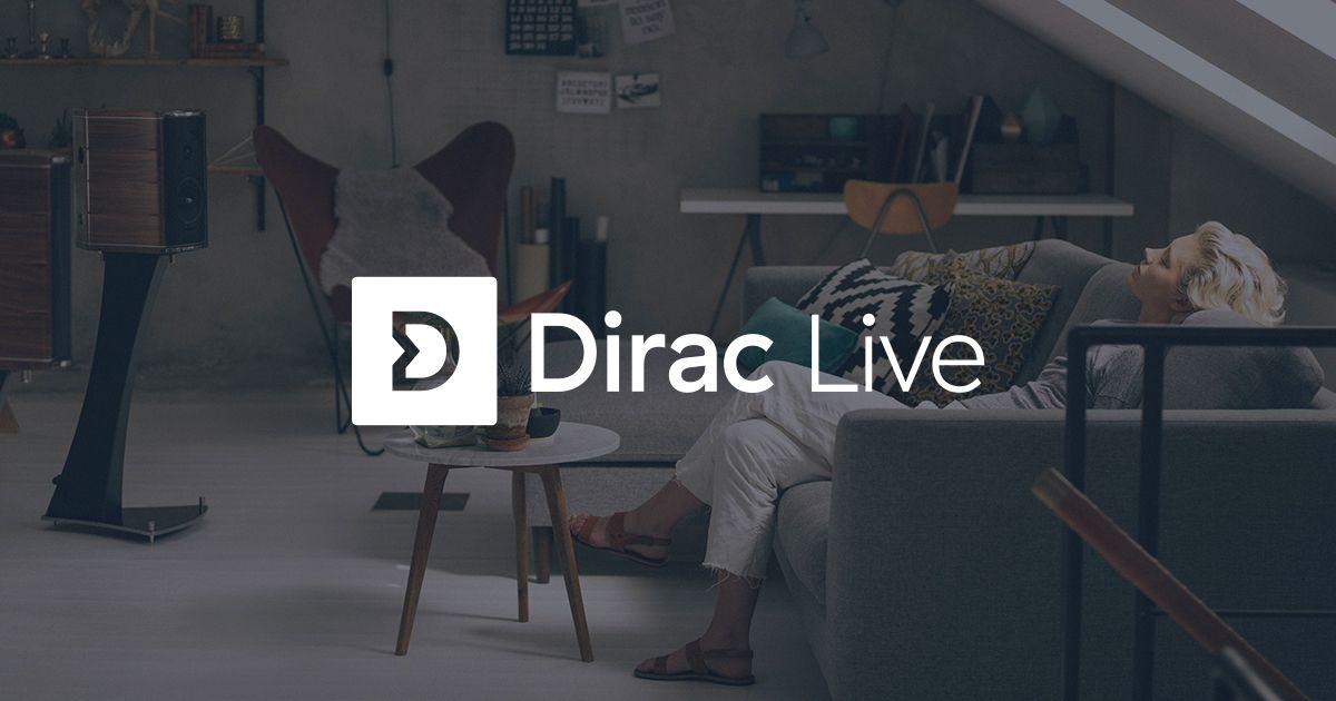 Dirac optimaliseert speakers met software