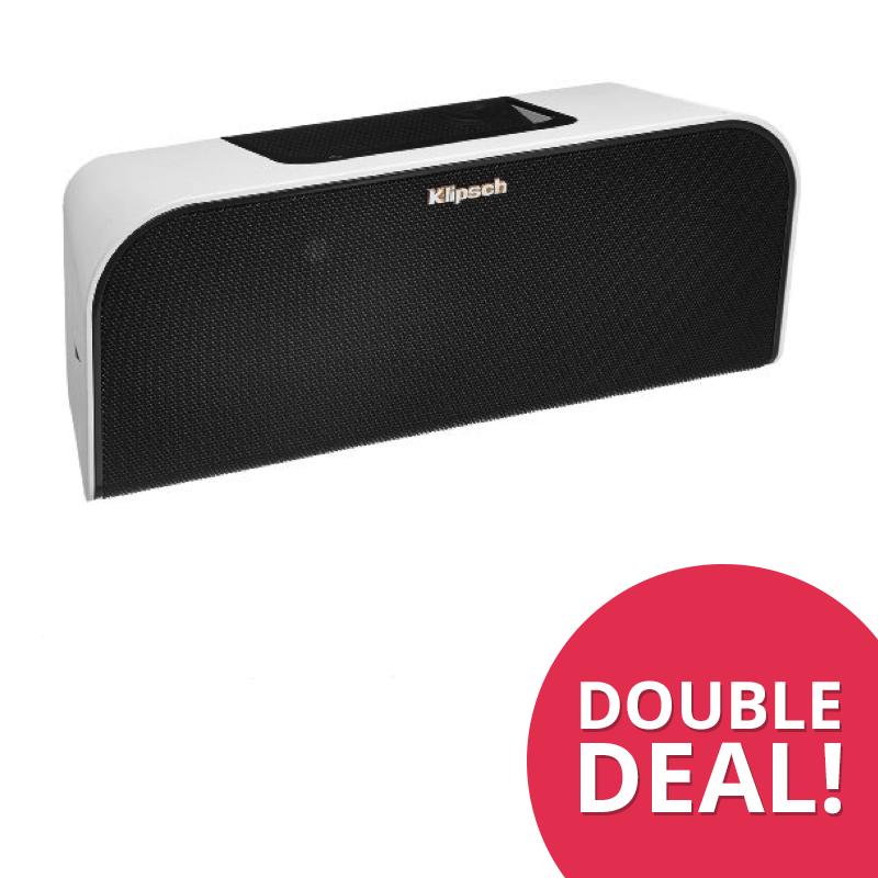 DoubleDeal : Klipsch KMC3 Wireless Speaker - Wit