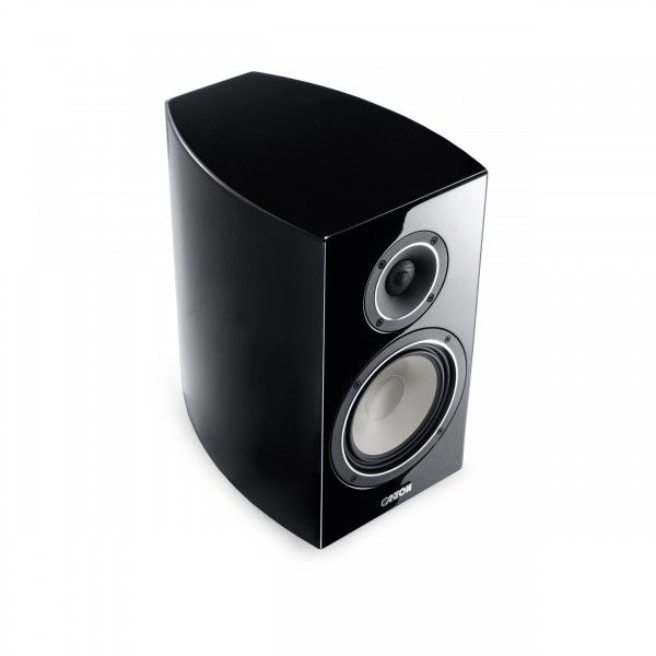Canton: Vento 836 boekenplank speaker - 2 stuks - Zwart