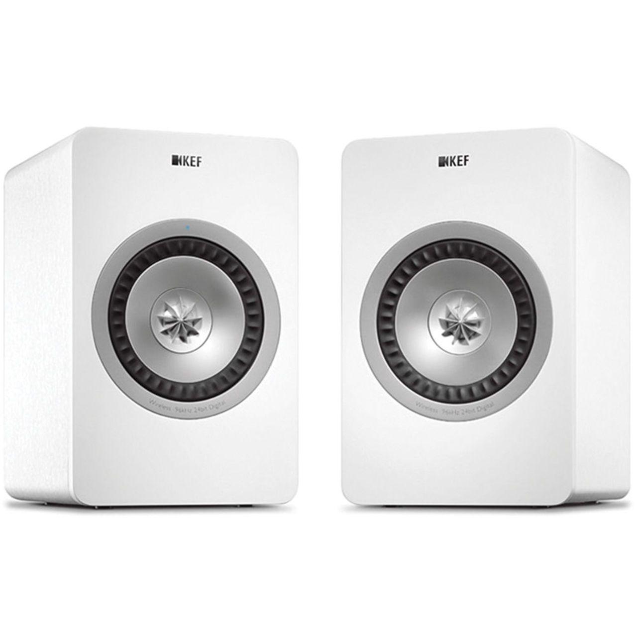 KEF X300A Wireless WHT actieve luidspreker (set van 2)