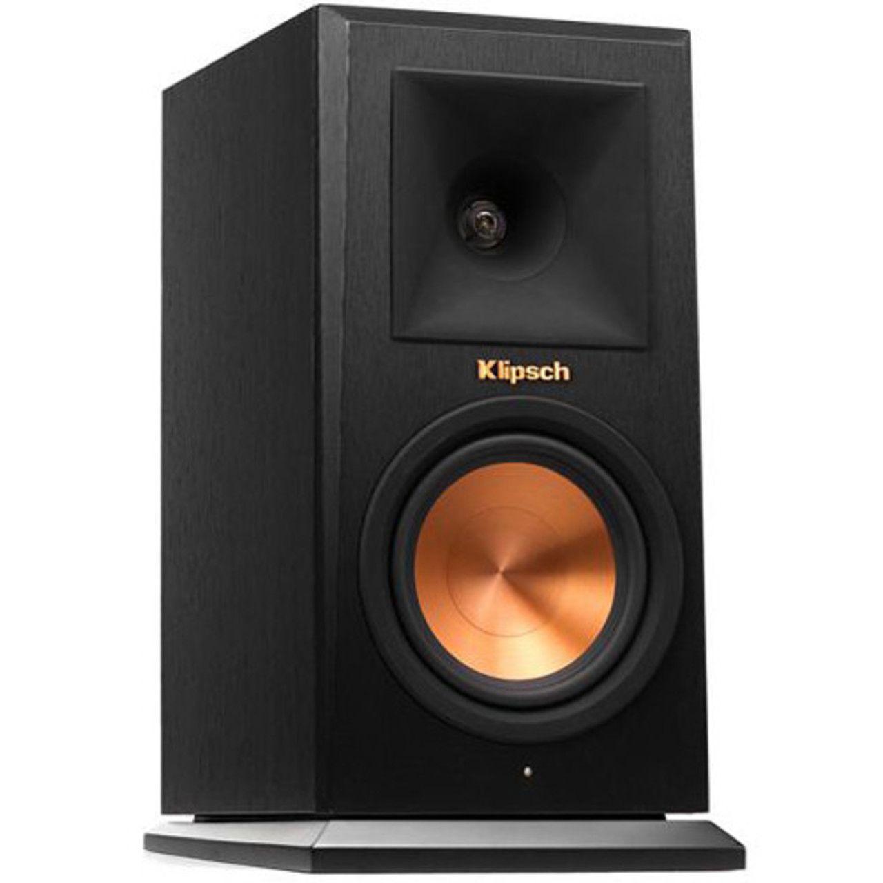 Klipsch: RP-140WM Draadloze Boekenplank Speakers - 2 stuks - Zwart