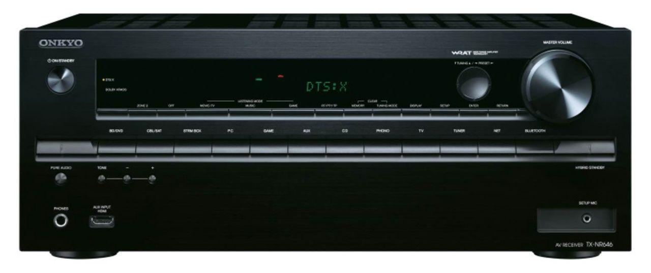 TX-NR646 (zwart)