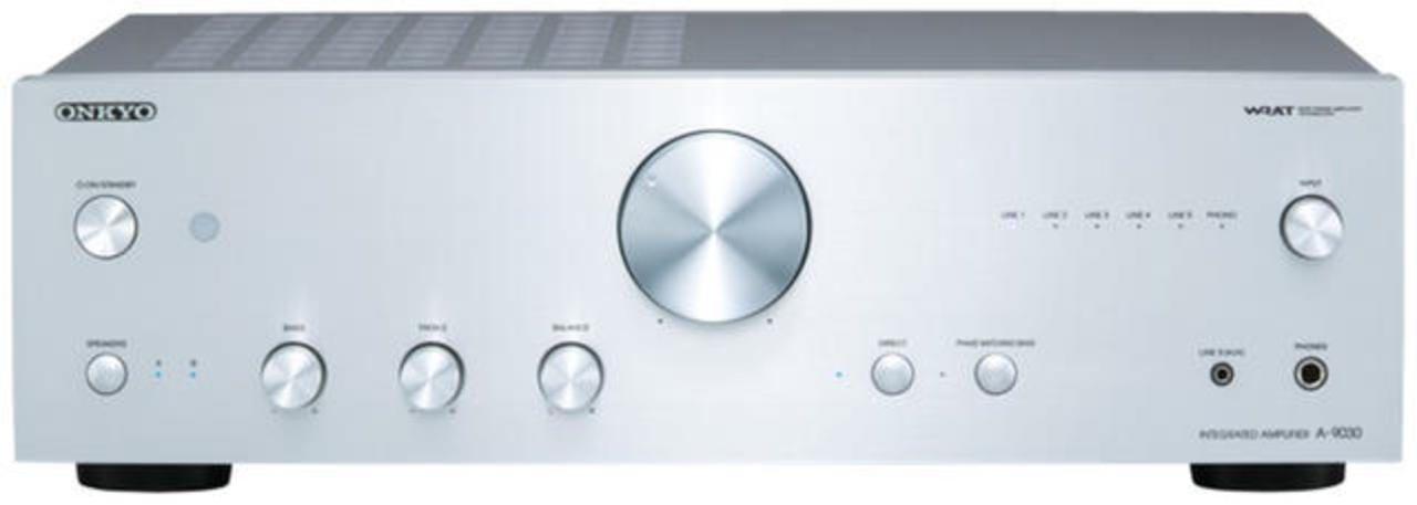 Onkyo: A-9030 Stereo versterker Zilver