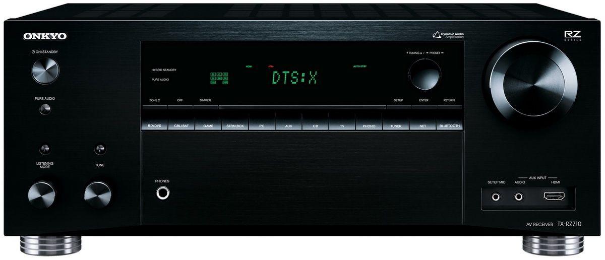 Onkyo: Tx-Rz710 AV receiver - Zwart