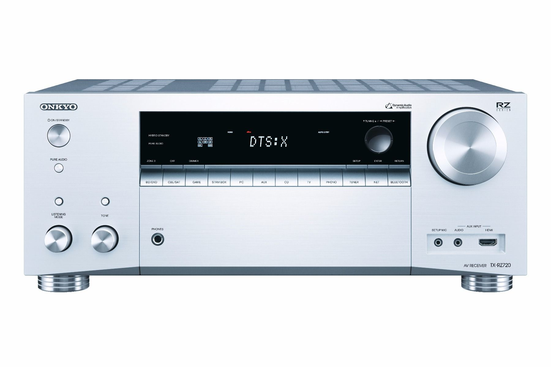 Onkyo: TX-RZ720 7.2 Surround receiver - Zilver