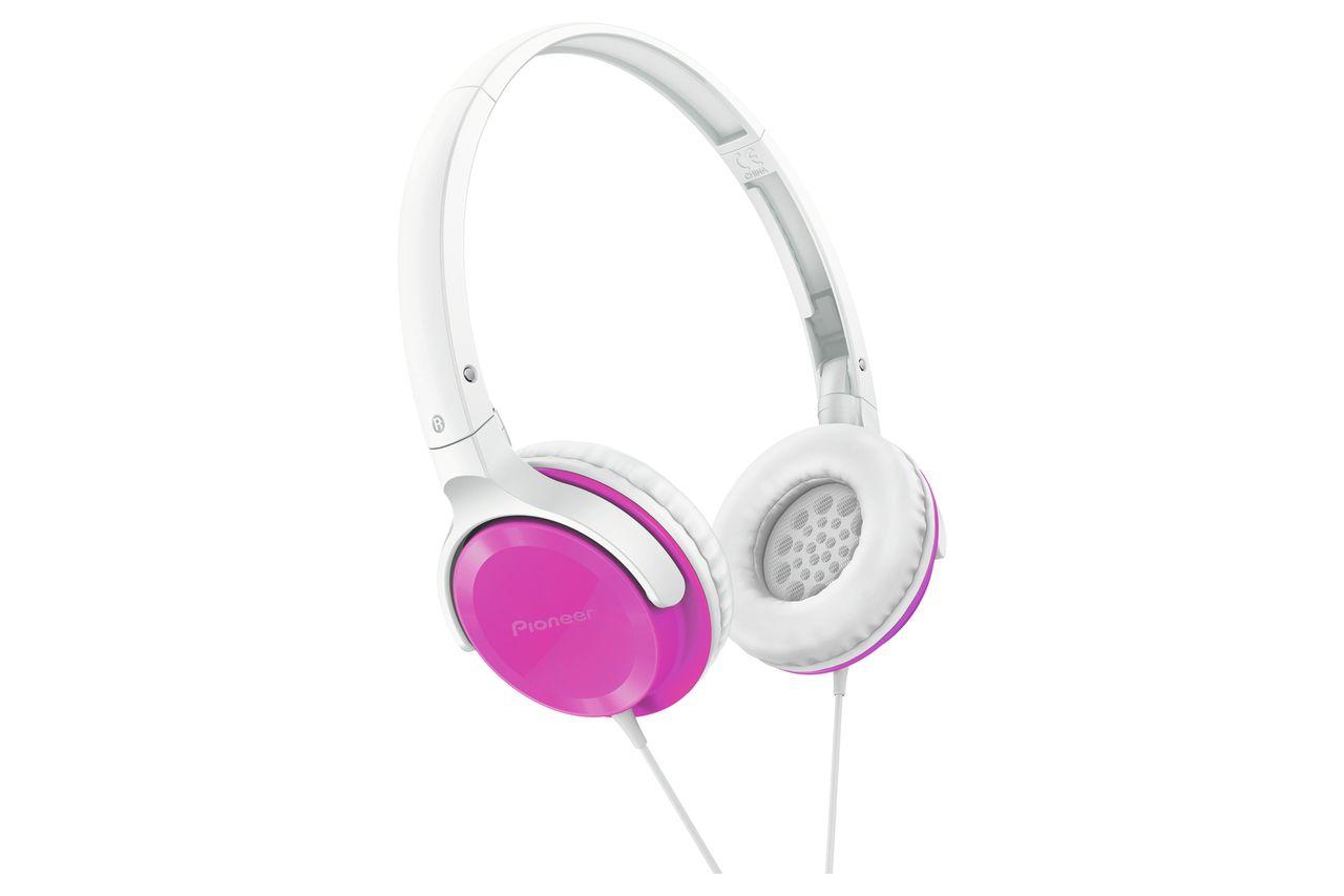 Pioneer SE-MJ502-P - Over-ear koptelefoon - Roze