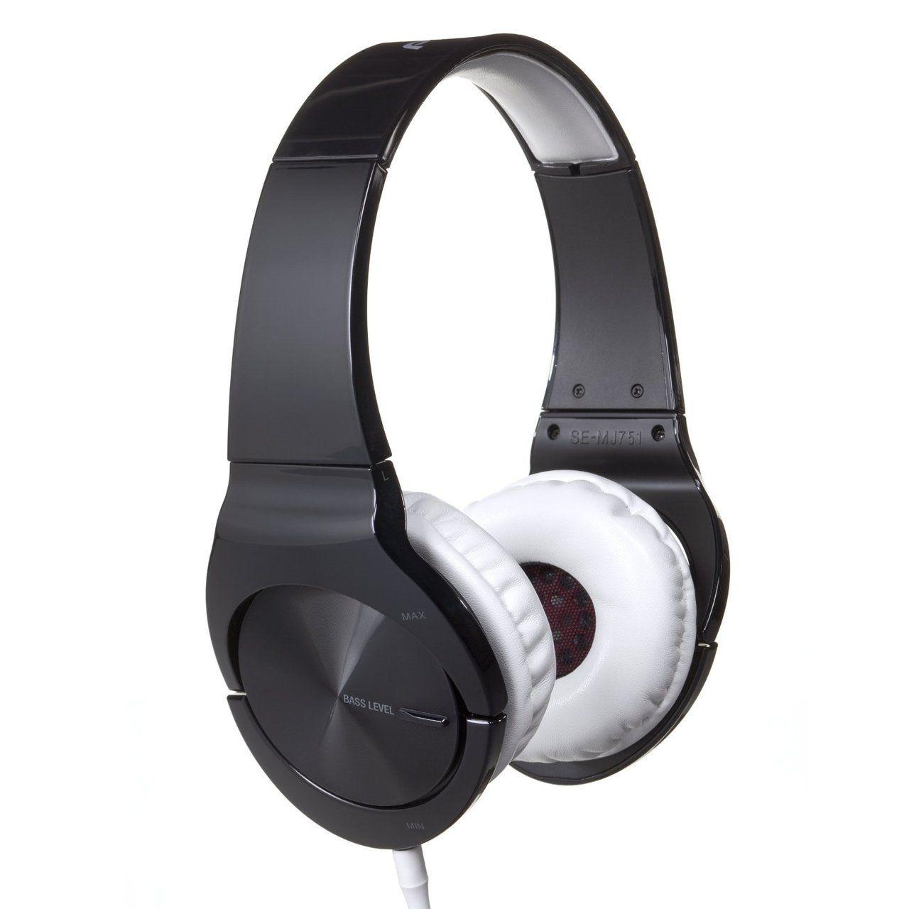 Pioneer: SE-MJ751 On-Ear Zwart
