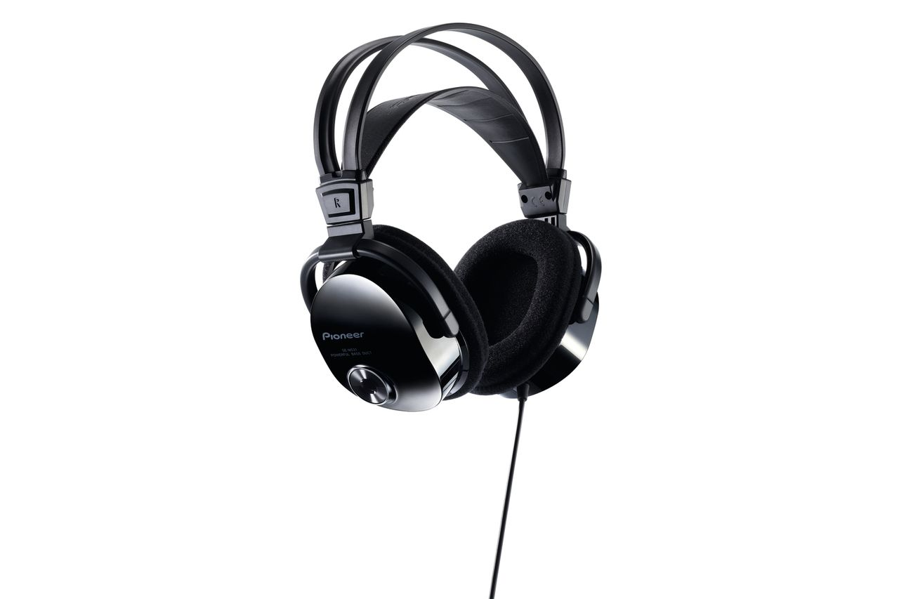 Pioneer: SE-M531 On-Ear - Zwart