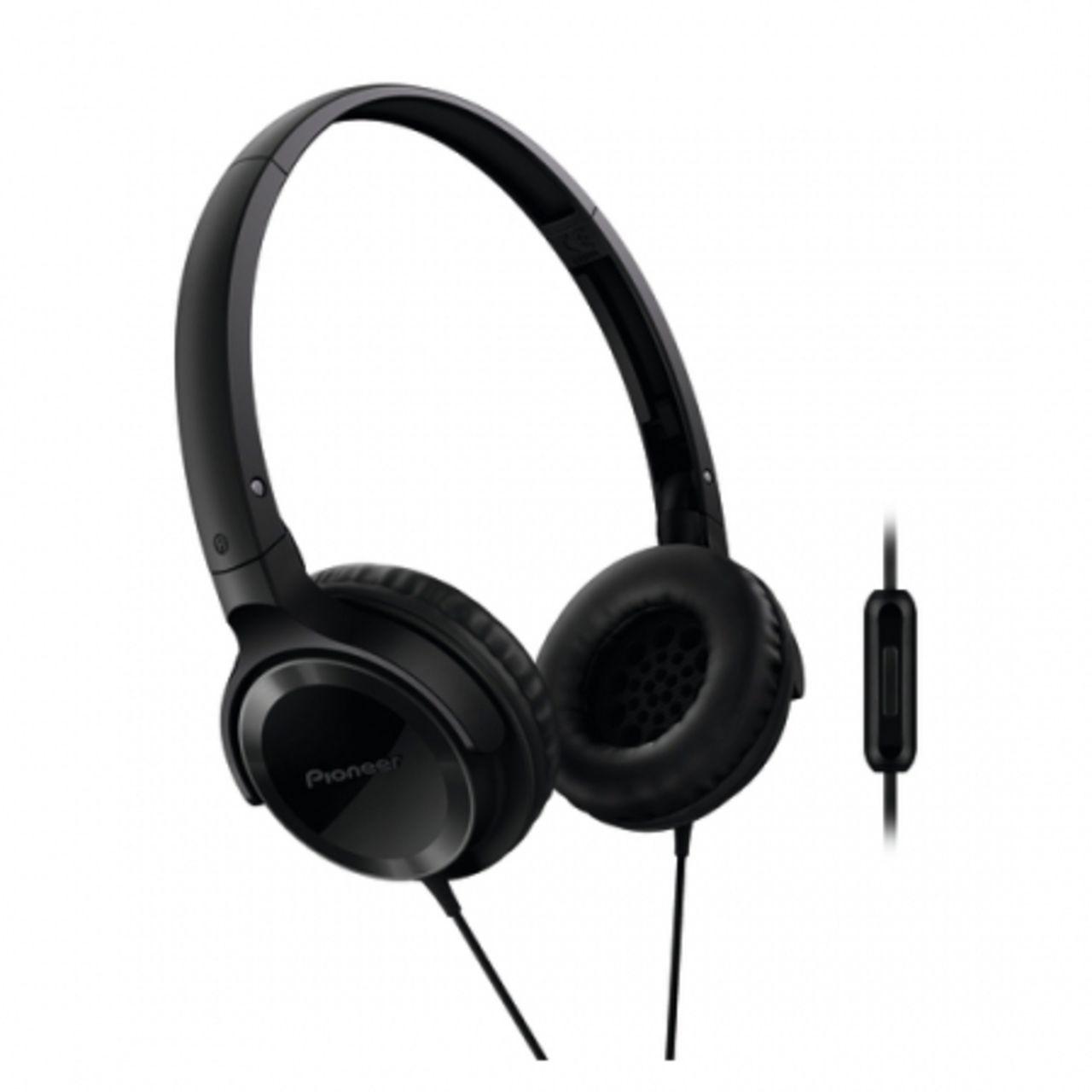 Pioneer SE-MJ522T-K On-ear Koptelefoon zwart