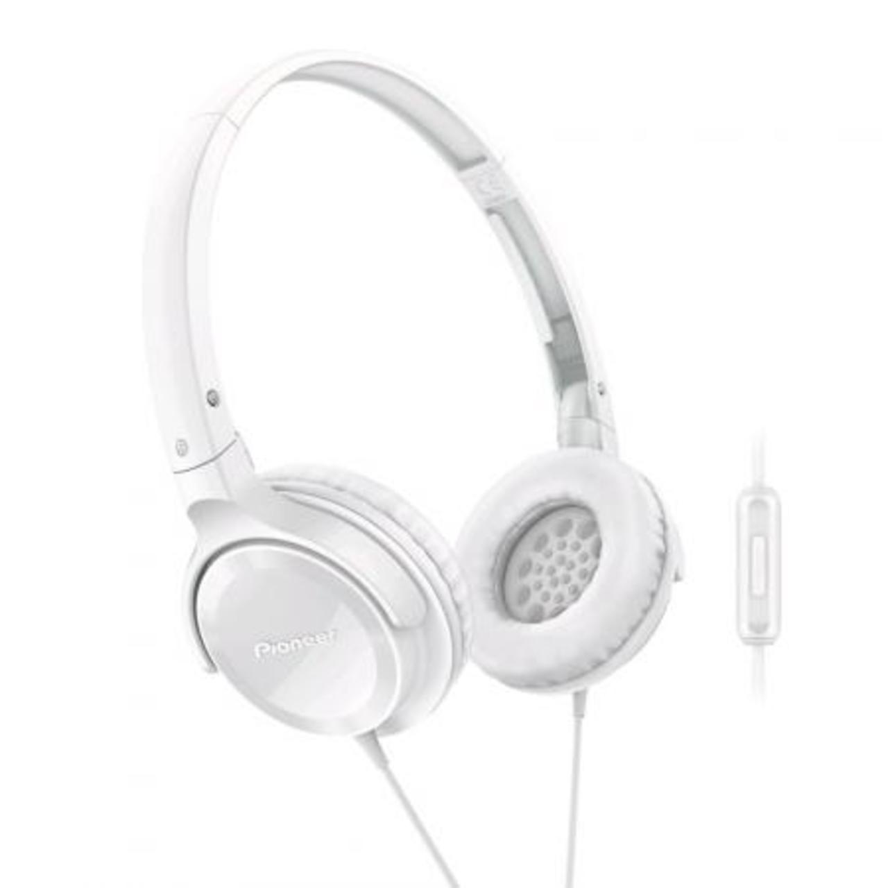 Pioneer SE-MJ502T-W On-ear Koptelefoon wit