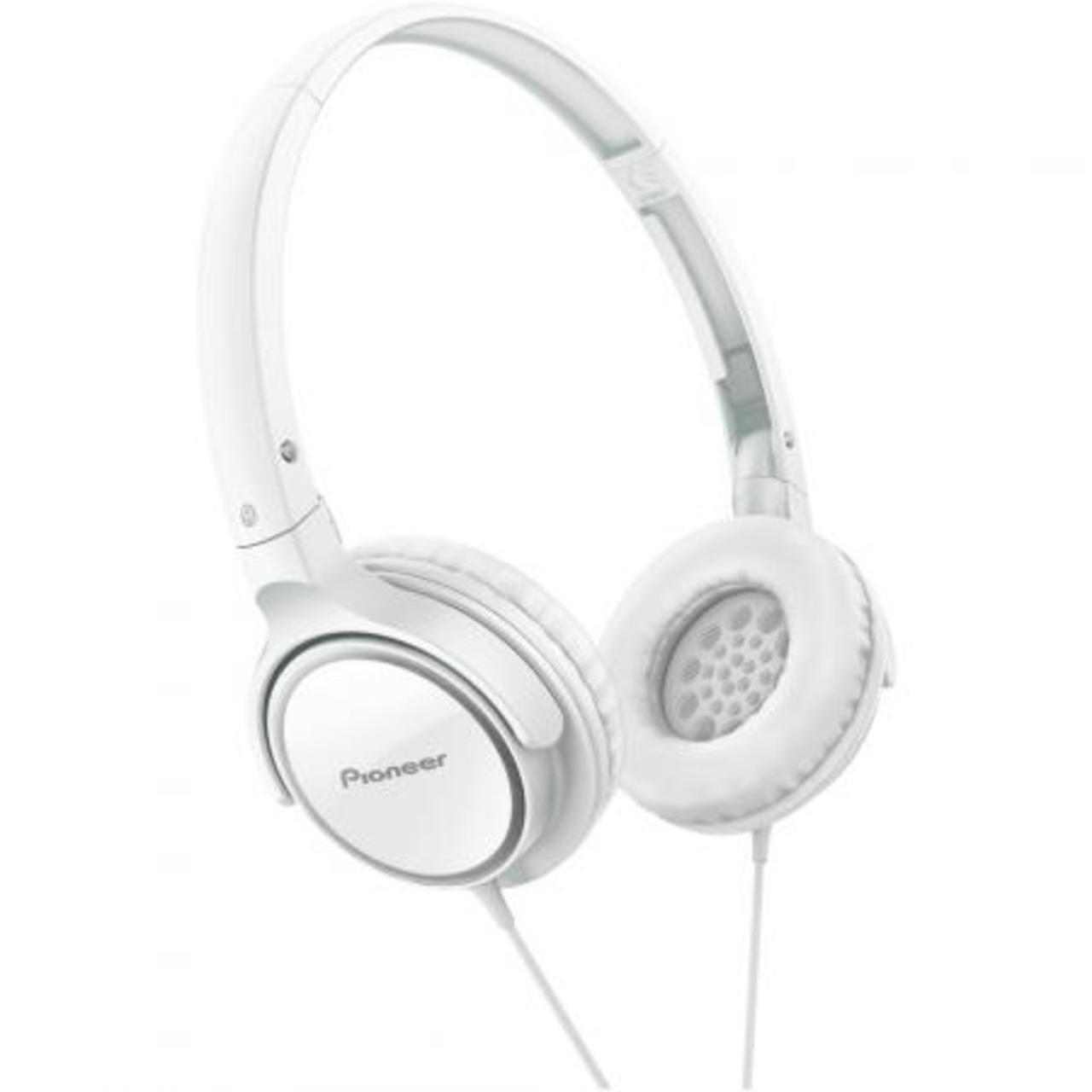 Pioneer SE-MJ522-W - Over-ear koptelefoon - Wit