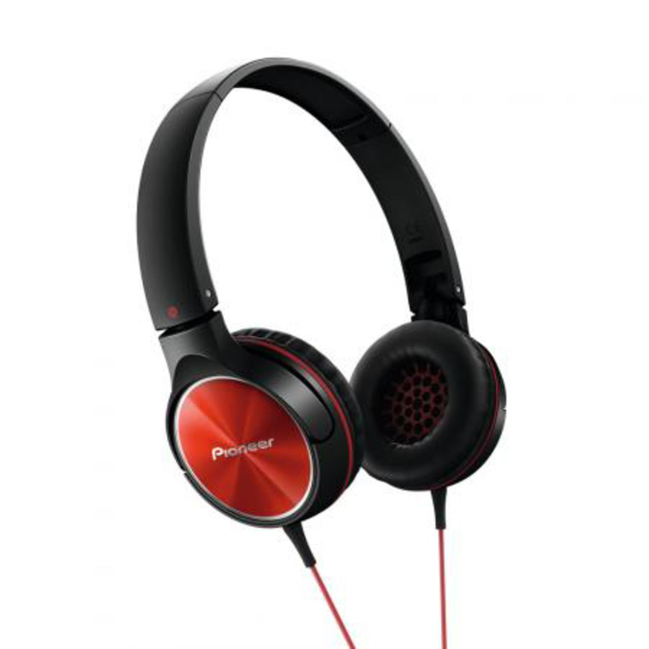 Pioneer SE-MJ522-R - Over-ear koptelefoon - Rood