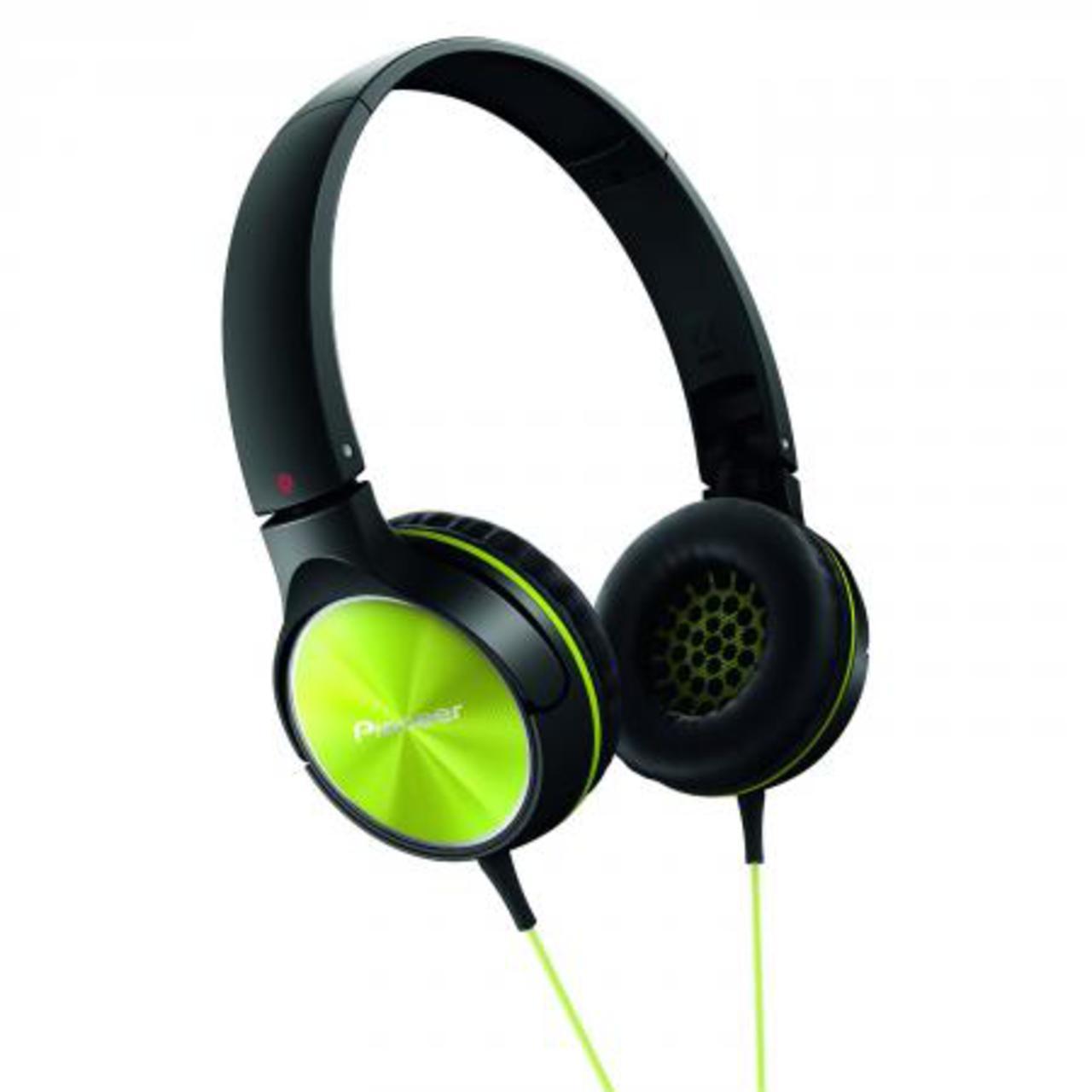 Pioneer SE-MJ522-Y - Over-ear koptelefoon - Limoen