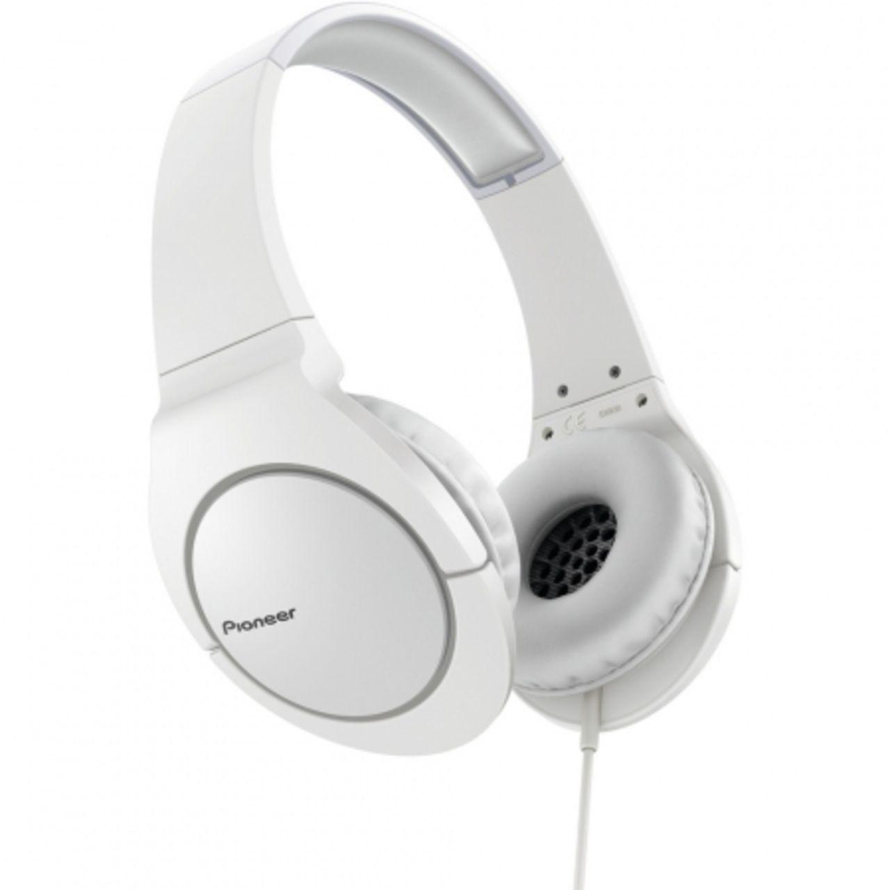 Pioneer SE-MJ741-W Basshead Koptelefoon wit
