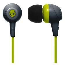 SkullCandy Jib - In-ear koptelefoon - Grijs/Geel