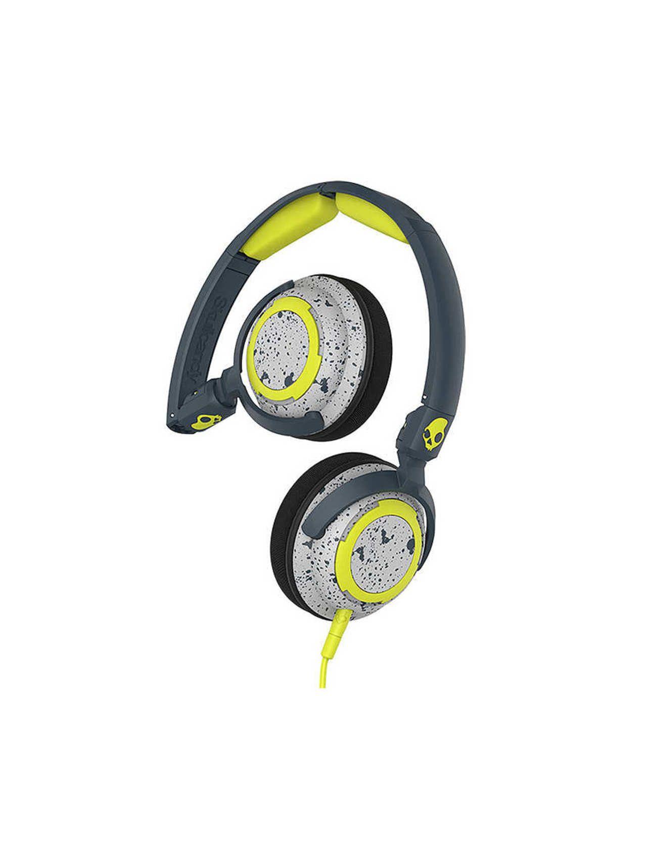 Skullcandy Lowrider 1.5 - On-ear koptelefoon - Grijs/Geel