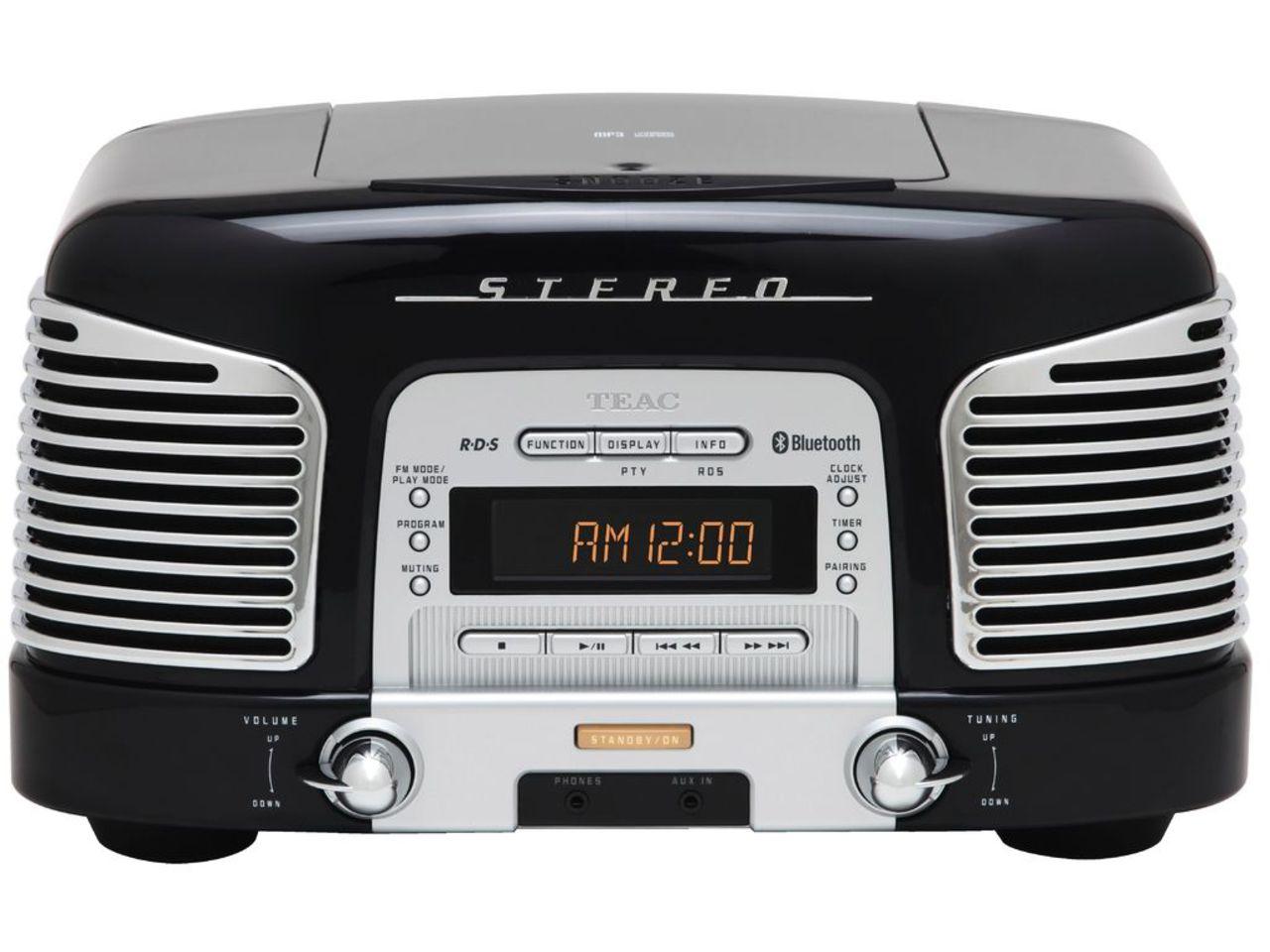 Teac SL-D930-B - Radio/Cd-speler - Zwart