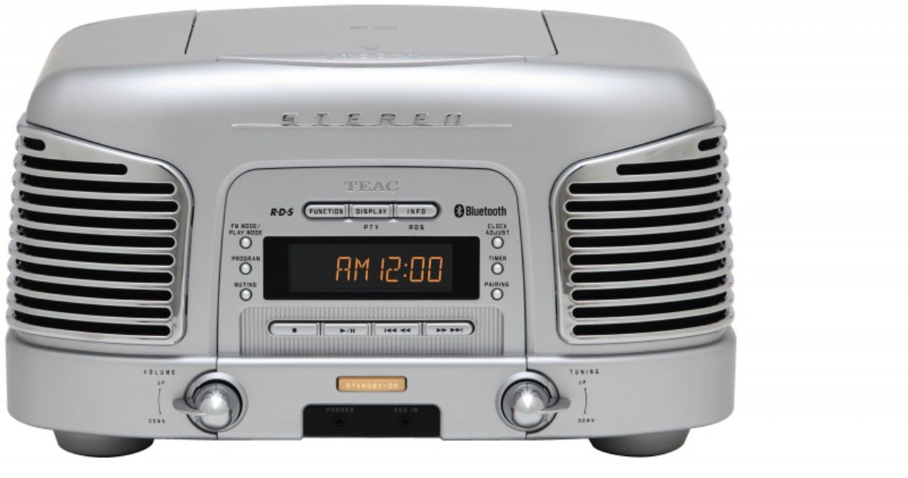 Teac SL-D930-S - Radio/Cd-speler - Zilver